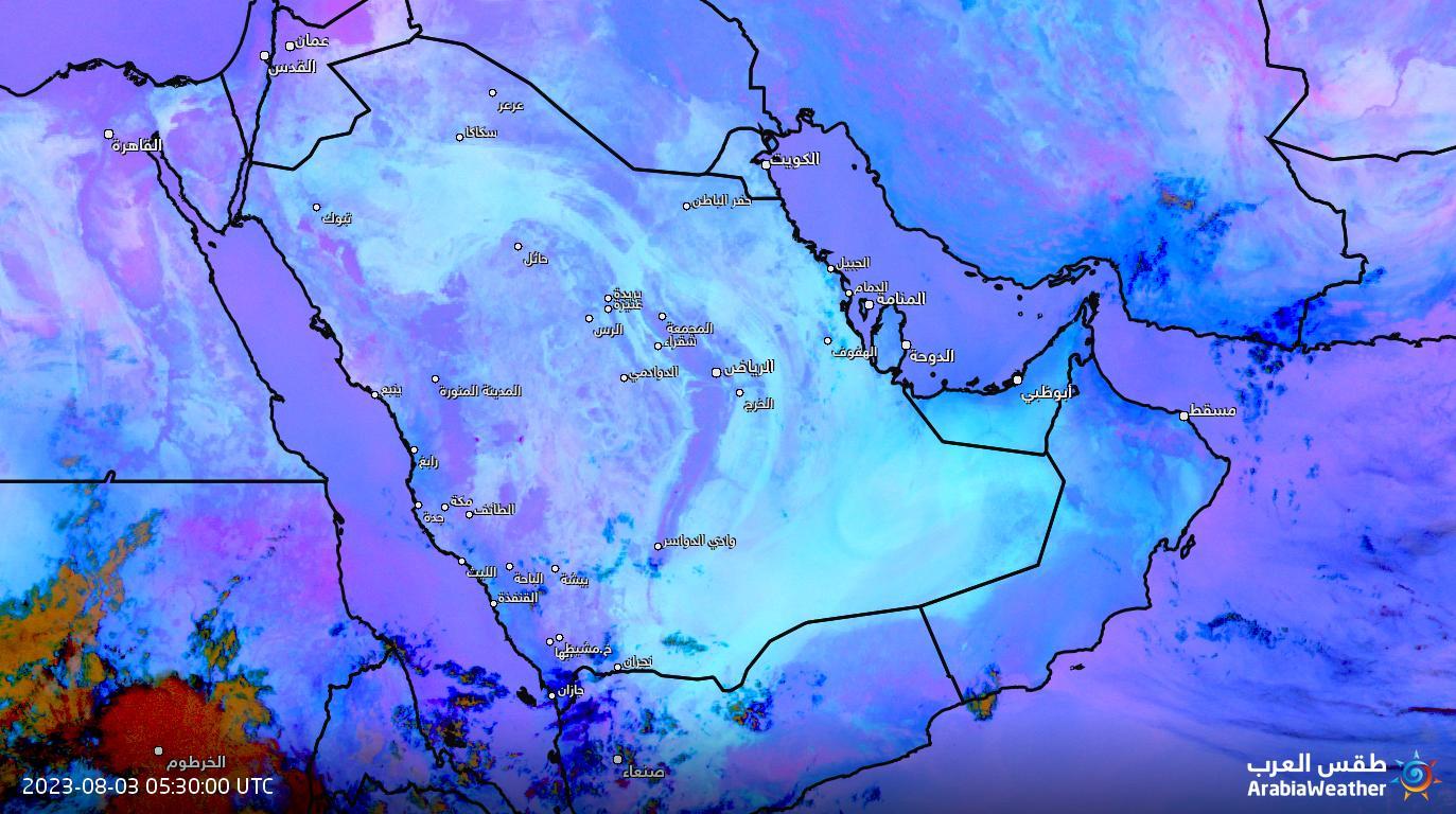 الغبار يتسبب تعليق الدراسة المناطق