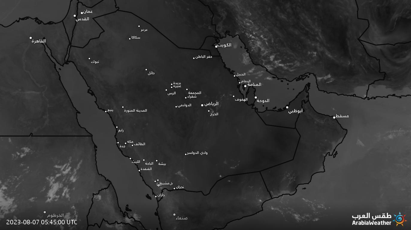 تصویر ماهواره ای مادون قرمز