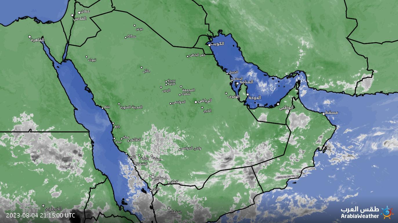 تصویر ماهواره ای هواشناسی-با قابلیت نمایش ابرهای ارتفاع پایین